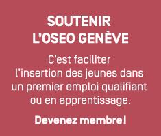 Devenez membre de l'OSEO Genève - l'insertion des jeunes