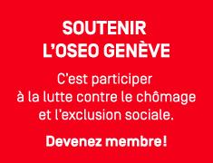 Devenez membre de l'OSEO Genève - contre l'exclusion sociale